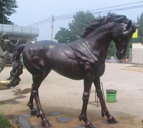 仿真铜马雕塑