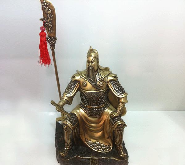 关公神像-神像