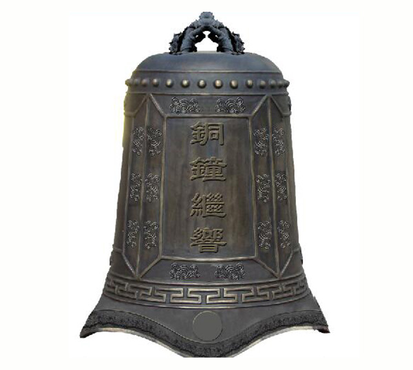 仿古大铜钟