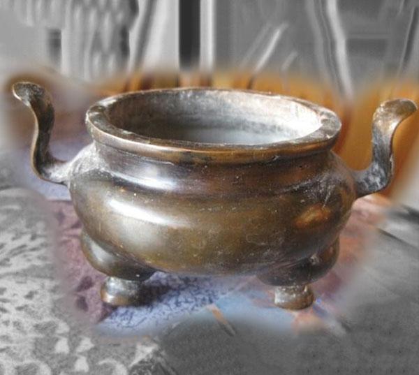 仿古宣德炉铜香炉铸造