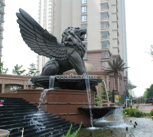 天狮-园林雕塑