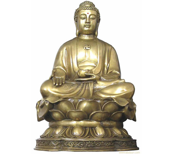 大型铸铜佛像