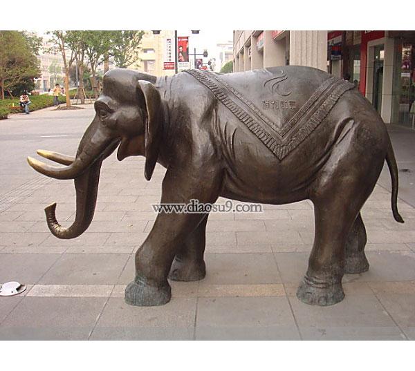 祥和如意铜大象
