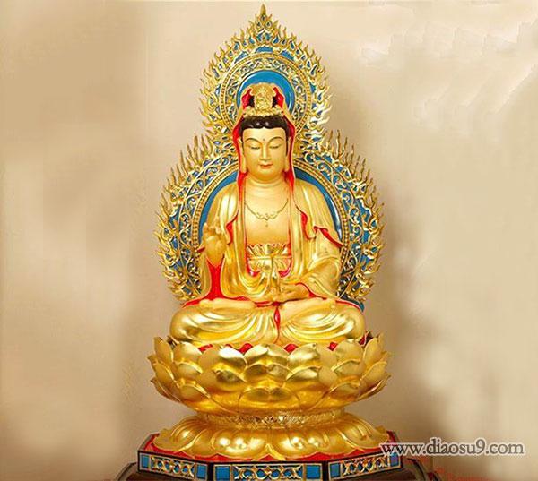 大型铜佛像