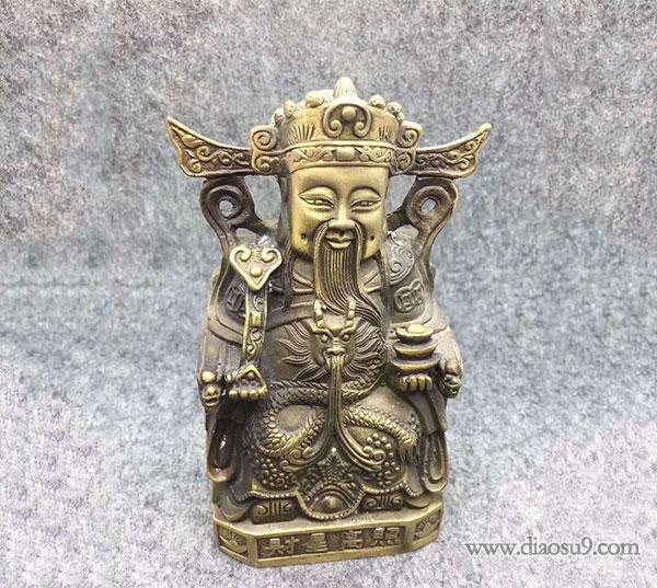 财神像铸造