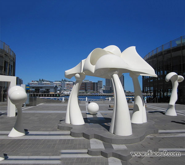 蘑菇不锈钢雕塑