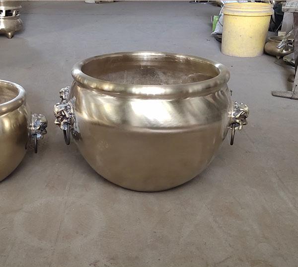 大型风水铜缸
