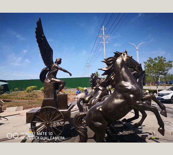 马可波罗雕塑