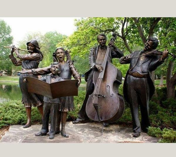 音乐会雕塑
